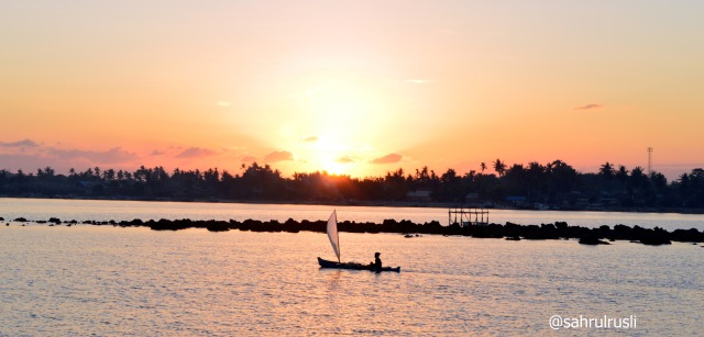 sunrise di pulau bonerate copy